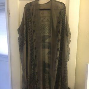 Anthropologie kimono